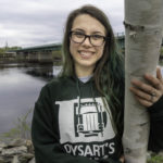 photo of woman wearing Dysart's Sweatshirts