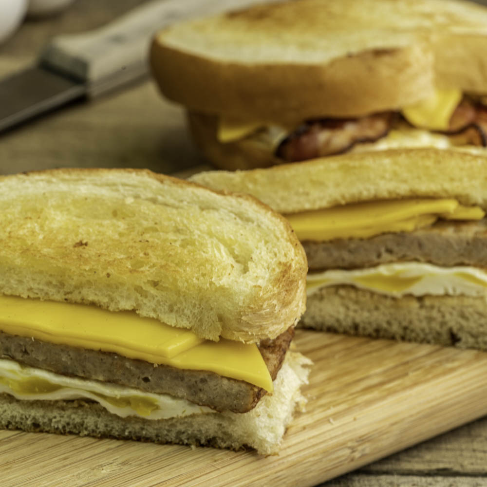 Homemade Bread sandwiches