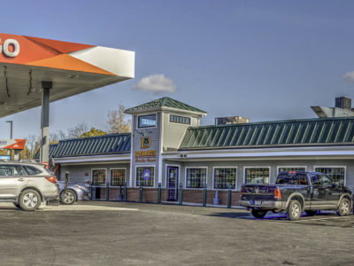 external photo of hampden dysart's travel stop